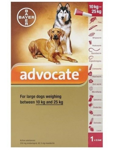 Advantix de Bayer Perros 4ml +25Kg
